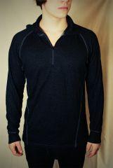 funkční prádlo DEVOLD  Man zip neck black